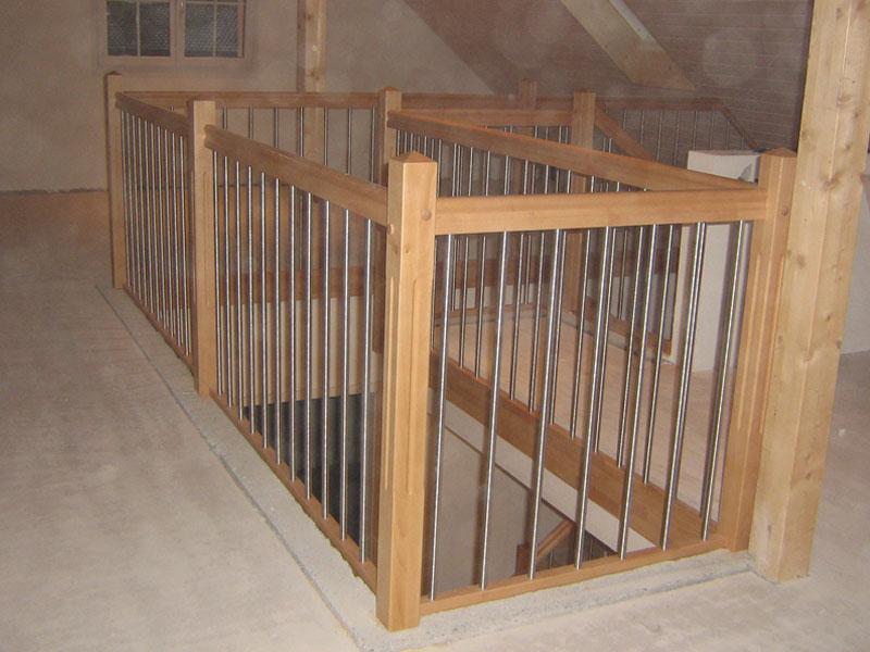 holzgel nder treppengel nder24. Black Bedroom Furniture Sets. Home Design Ideas
