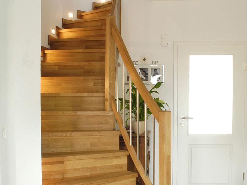 Treppengeländer Eiche